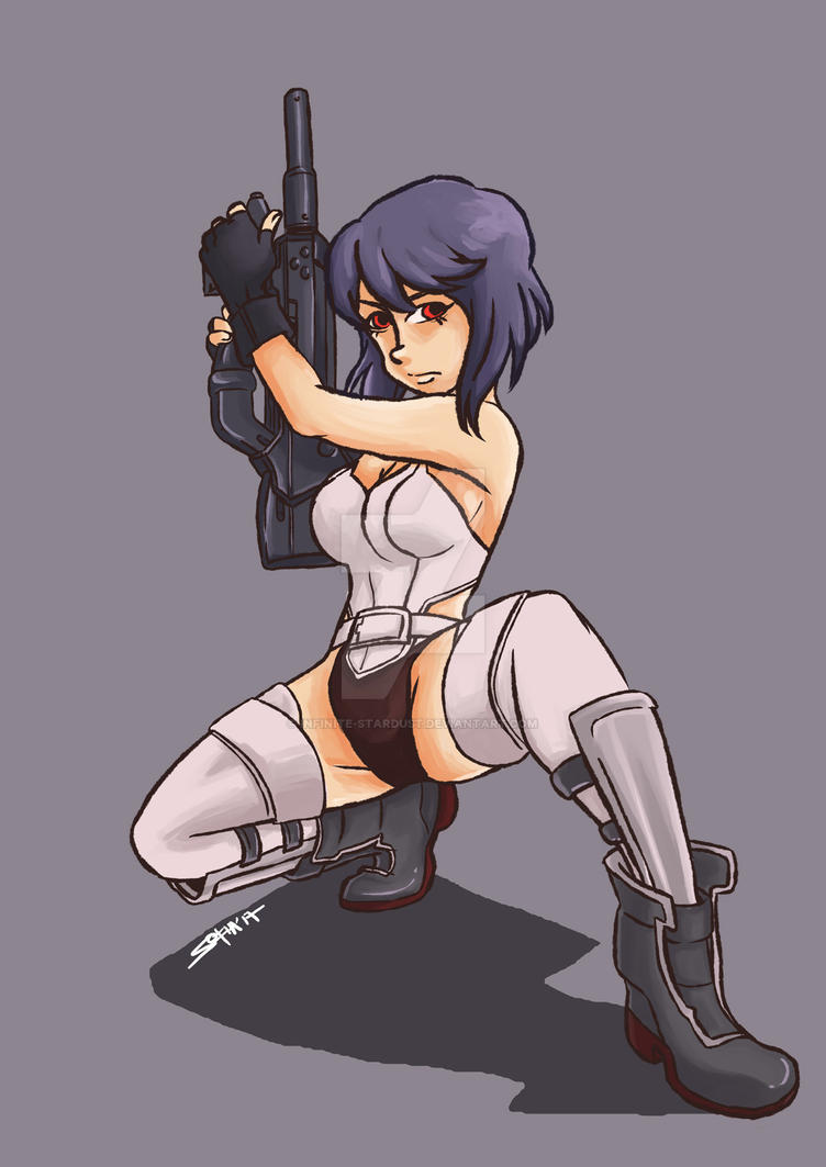 GitS: S.A.C. - Major Motoko by Infinite-Stardust