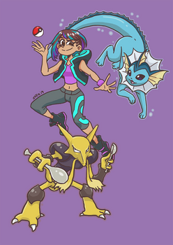My Gymsona: The Water/Psychic Gym