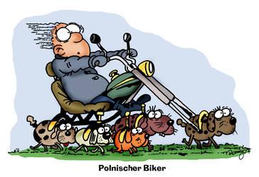 Polnischer biker
