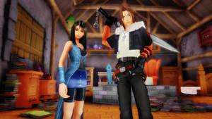 MMD Kingdom Hearts - Rinoa and Leon