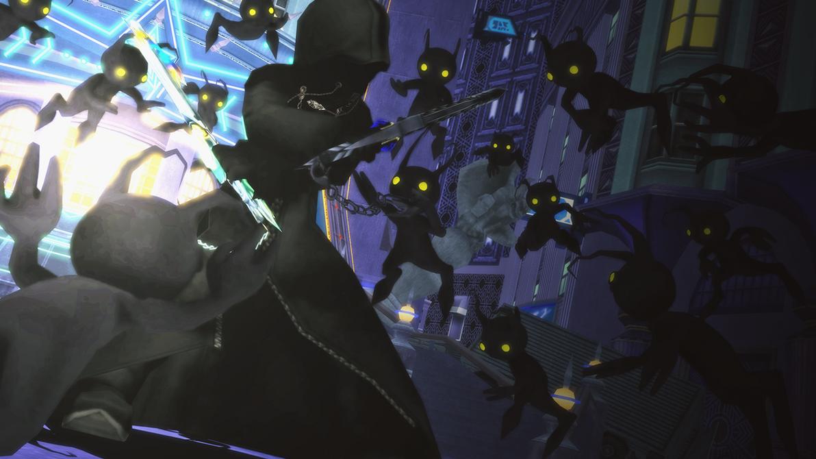 [MMD - Kingdom Hearts] - Acechado por la oscuridad by blackSoul1890