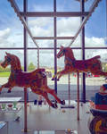 Jumping Horses by nikki---chan