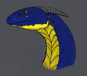 Dragon Head by Arzosoth