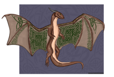 Celtic Dragon by Arzosoth