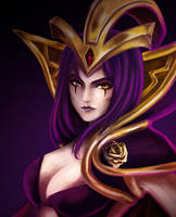 League of Legends fan art : Leblanc by Nokapi