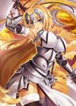 Joan of Arc fanart from Fate GO