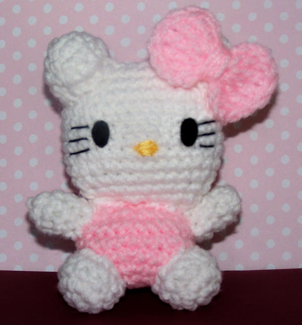 Hello Kitty amigurumi by ashcat801 on DeviantArt