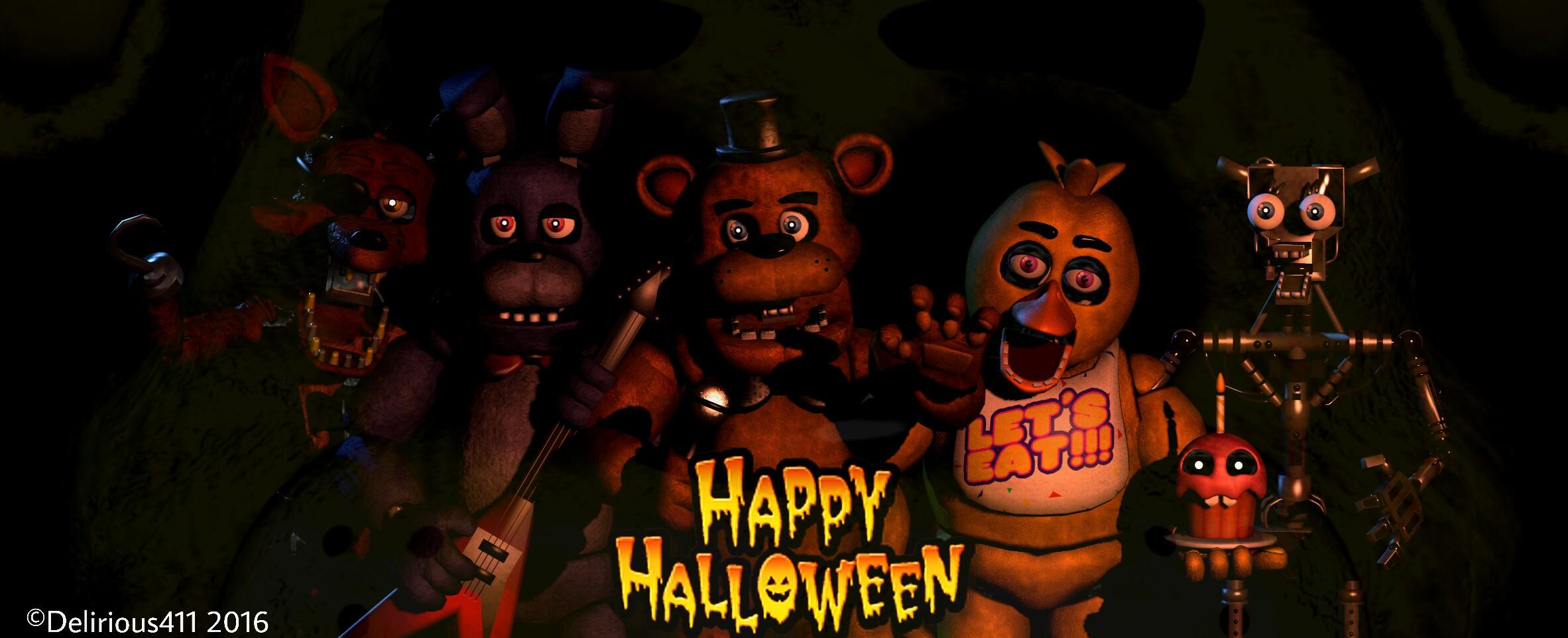 Halloween Freddy Toys : Happy halloween from freddy fazbear s pizza by