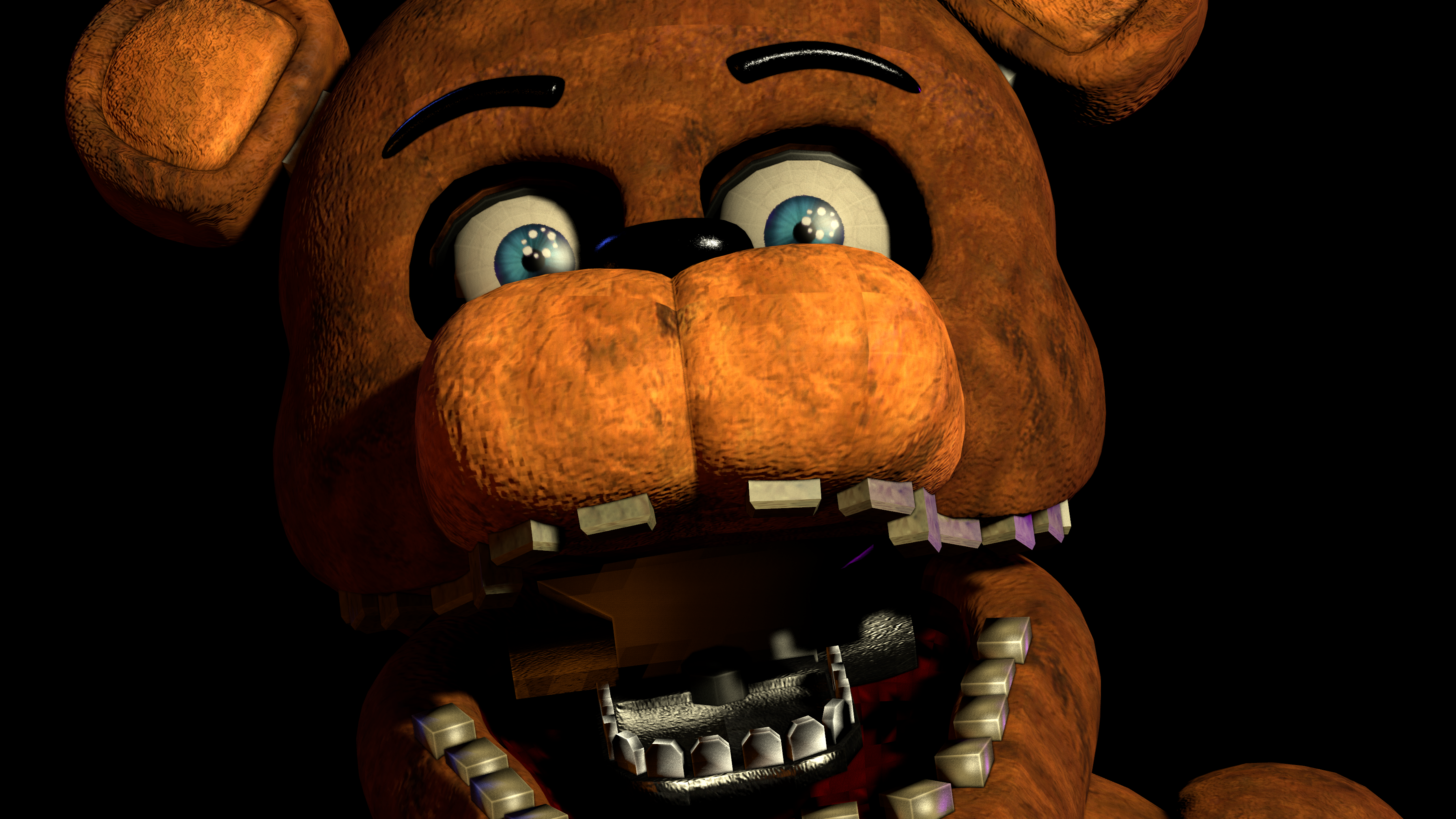 FNAF2] Withered Freddy Jumpscare by Delirious411 on DeviantArt