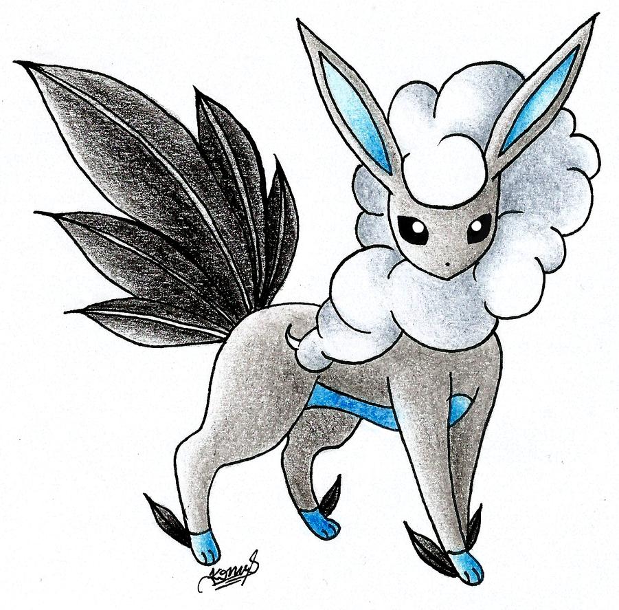 Pokemon: Eeveelutions: Flying Type (Aireon) by