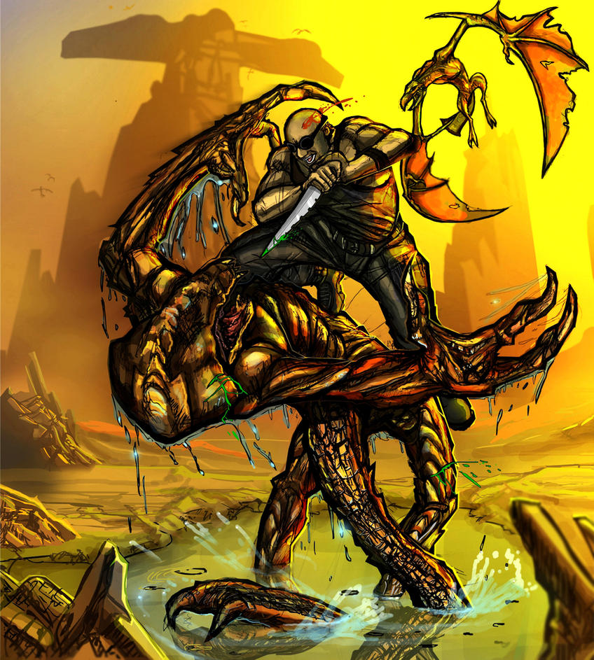Riddick's Quick Slice by mjcdreamart