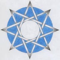 Knotwork Octogram by Jondera