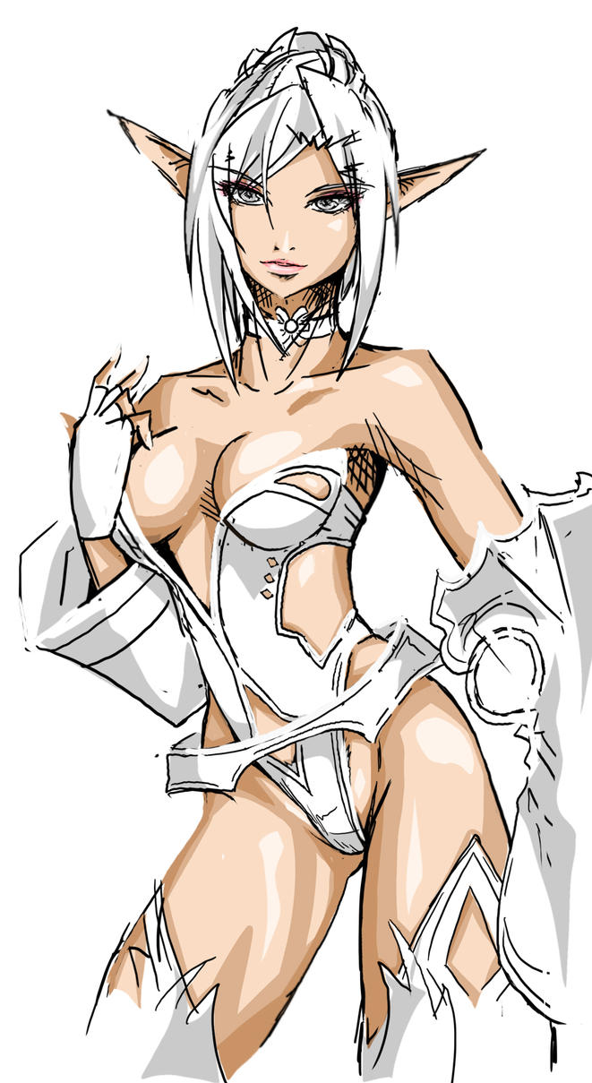 Dark elf drawing naked pics