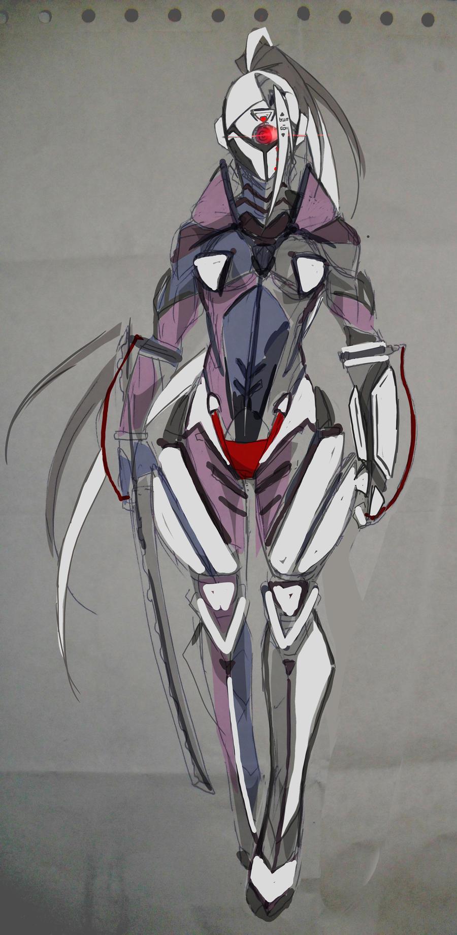 Cyborg Ninja by Agacross on DeviantArt