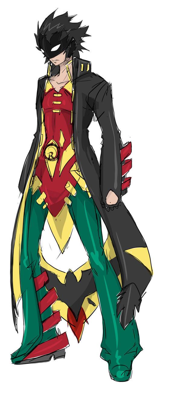 Robin by Agacross