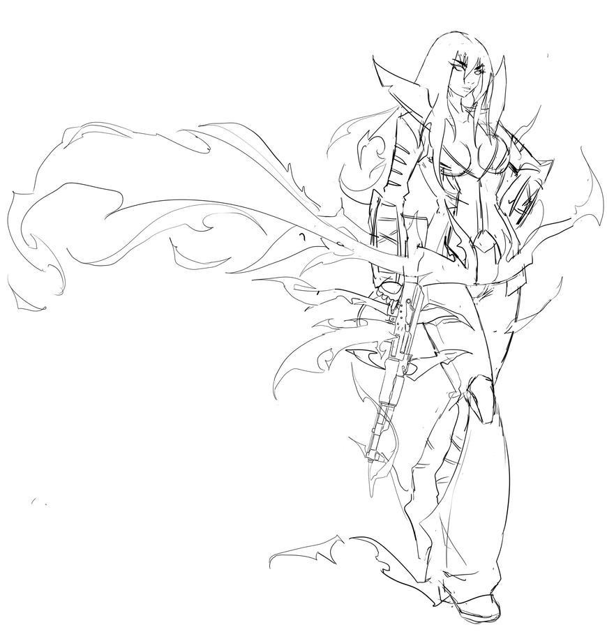 Ghost Rider Alex by Agacross
