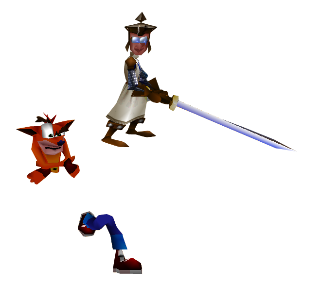 Crash Bandicoot #25 by VideoGameCutOuts