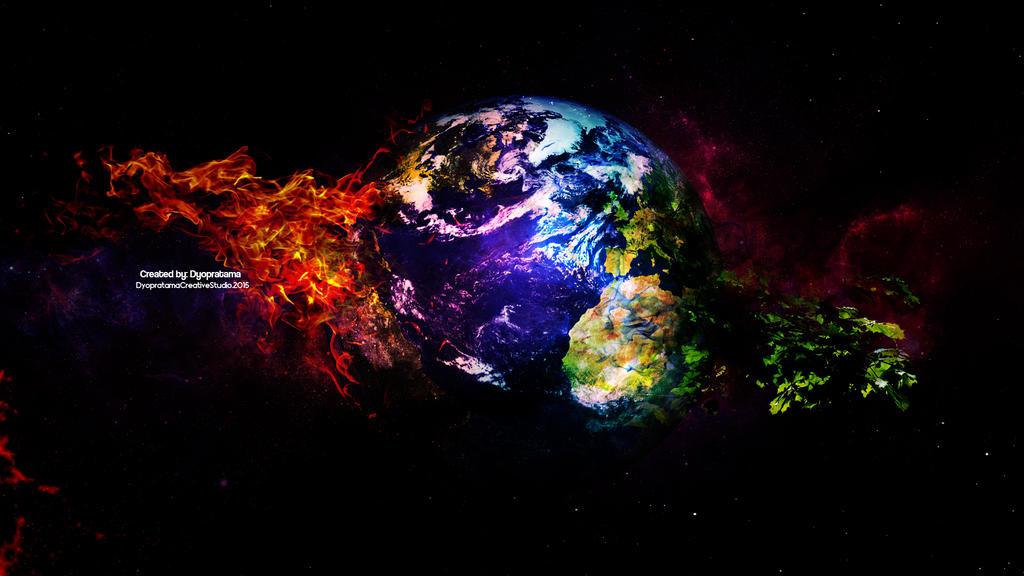 anstract earth wallpaper - photo #41
