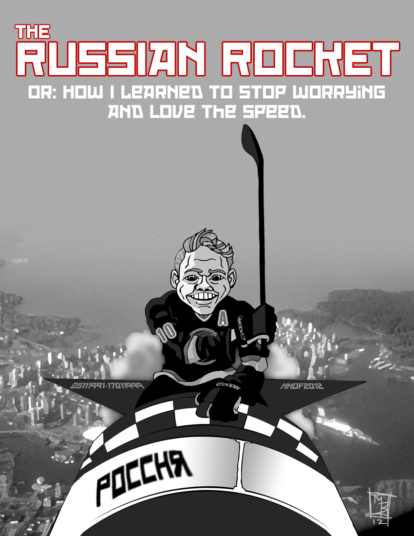 Pavel Bure - The Russian Rocket by Bleezer
