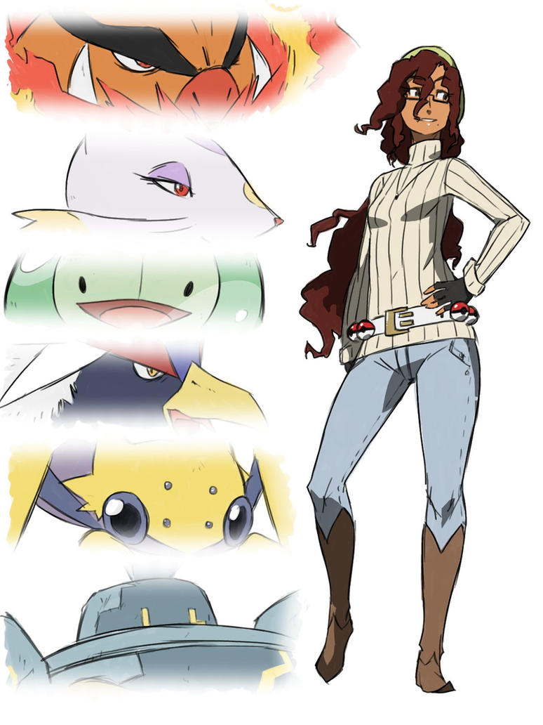 PKMN Trainer Anita by thelivingmachine02