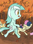 Running of the Leaves by thelivingmachine02