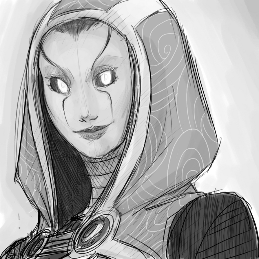 tali unmasked work in progress by thelivingmachine02