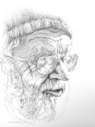 Beauty of Age Drawing Series 1 by audreycombs