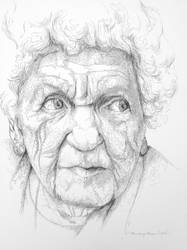 Beauty of Age Drawing Series 2 by audreycombs