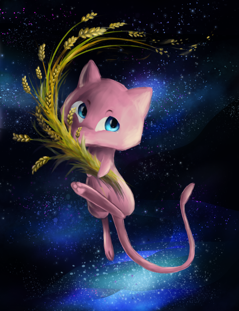 Sweet lil mew by dragnilu