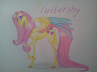 fluttershy by wolfling12