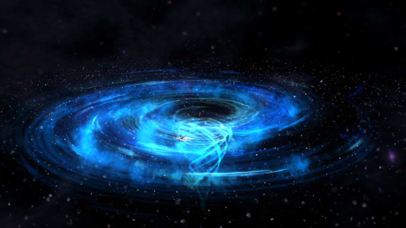 black holes in space in action - photo #6