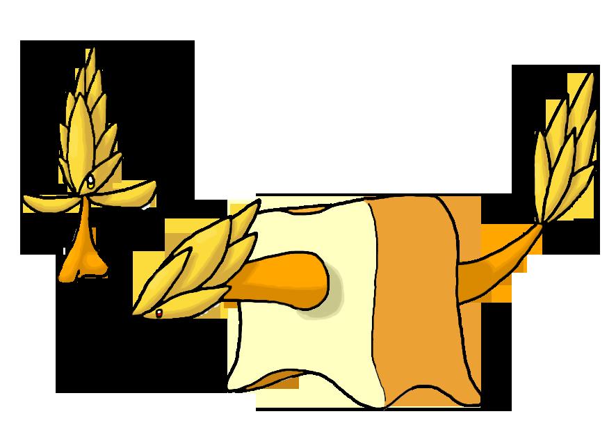 Grain + Bread Fakemon by Smiley-Fakemon