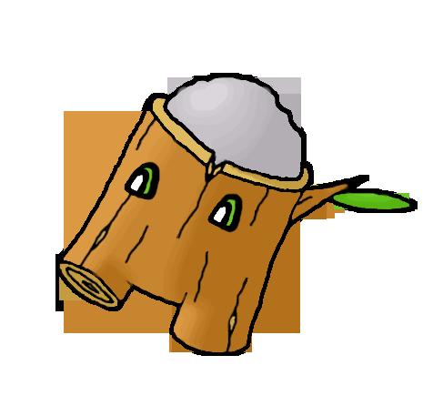 Twiggon, Cannon Fakemon by Smiley-Fakemon