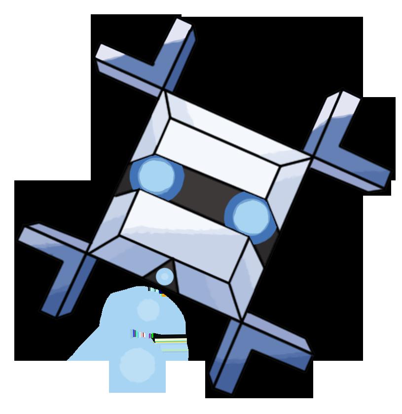 Snowflake Fakemon by Smiley-Fakemon