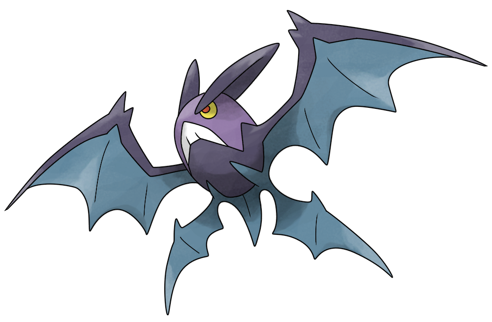 Mega Crobat by Smiley-Fakemon