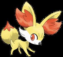 Pokemon Y: Fennekin by Smiley-Fakemon