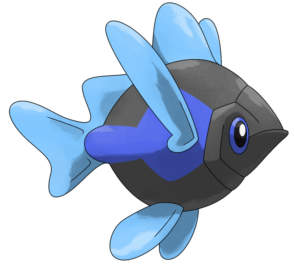 Amprid (Night) by Smiley-Fakemon on DeviantArt Wailmer Pokemon