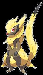 Surinari, Lightning Fakemon by Smiley-Fakemon