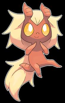 Tiefee, Mischievous Fakemon by Smiley-Fakemon