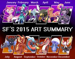 SF's 2015 Summary of Art