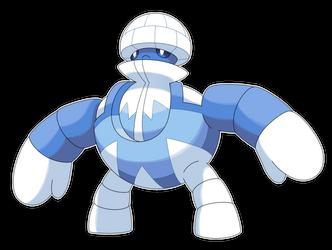 Mechloo, Igloo Fakemon V2 by Smiley-Fakemon