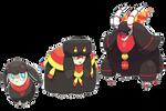 Fire Starter Fakemon - Commission