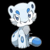 Chilleo, Fresh Snow Fakemon (alternate pose)