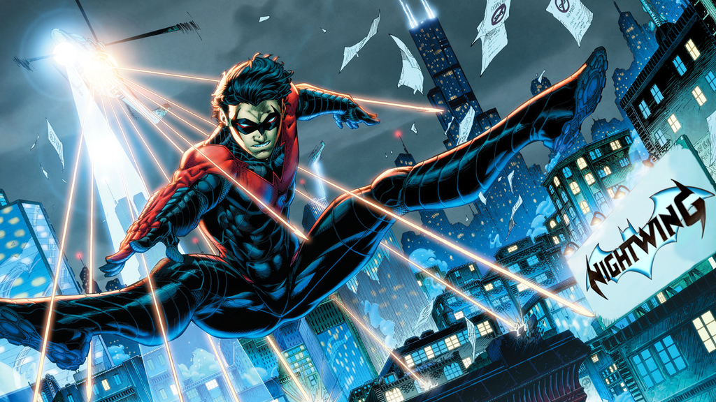 Nightwing Wallpaper 2560x1440 By POOTERMAN