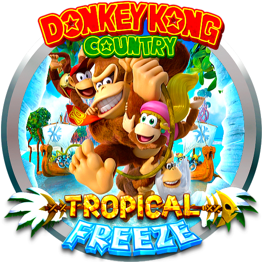 Donkey Kong Country Tropical Freeze by POOTERMAN on DeviantArt