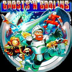 Ghosts 'N' Goblins by POOTERMAN
