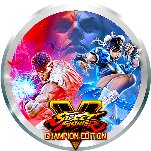 street fighter 5 champion edition logo png