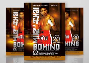 Muay Thai Boxing Meeting Bangkok by n2n44studio