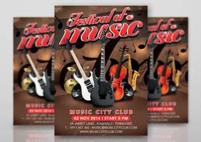 Festival Or Concert Of Music In Club by n2n44studio