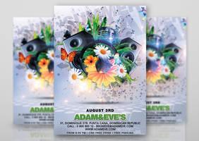 Summer Party Flyer by n2n44studio